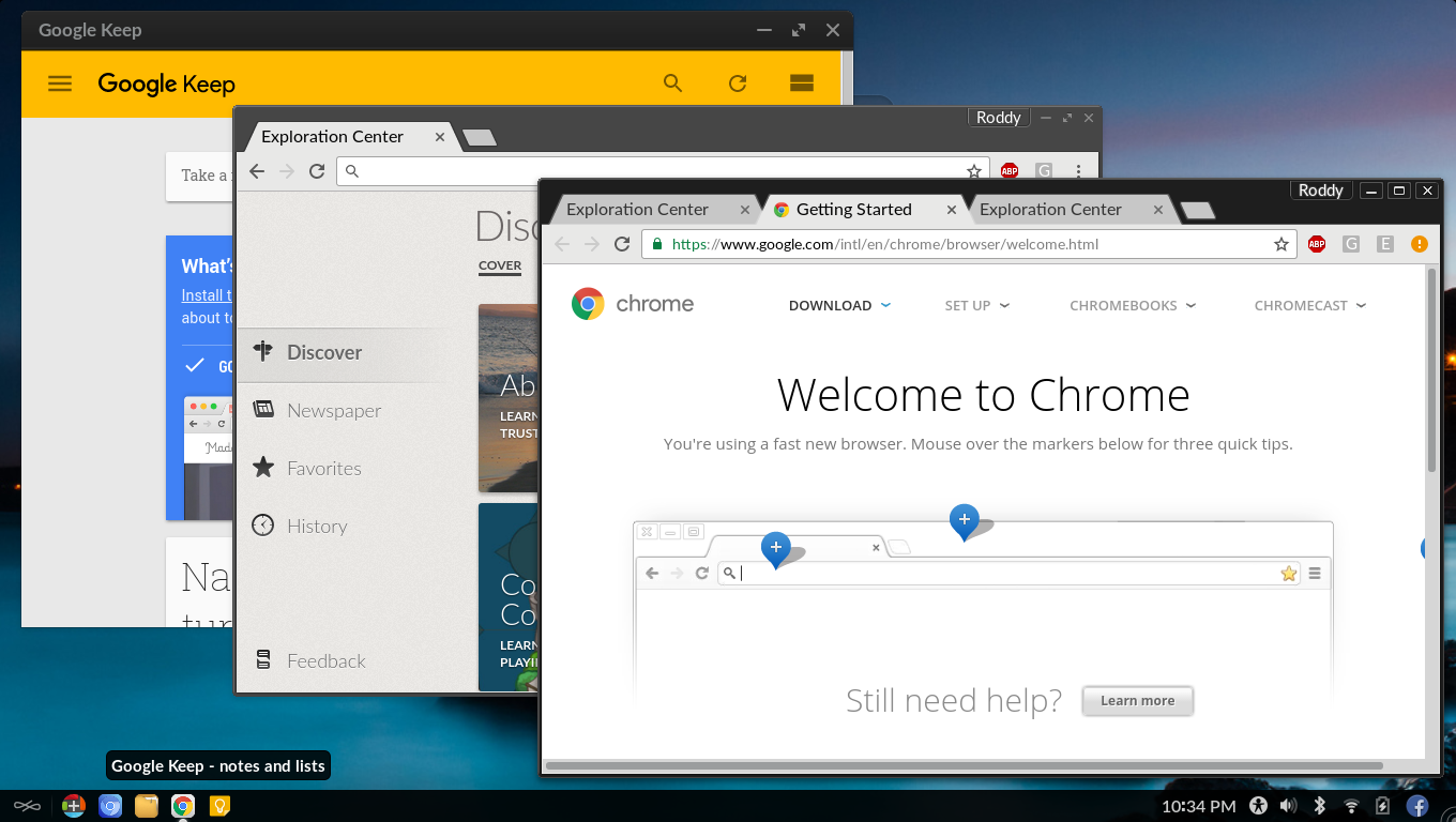 Chromium and Chrome usage together - apps - Endless Community