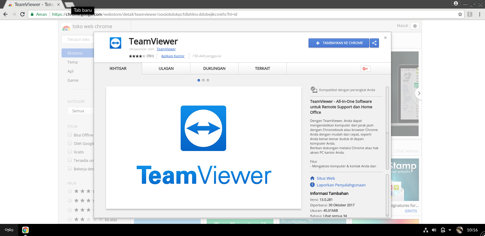 Hi guys i need help need help on installing team viewer in