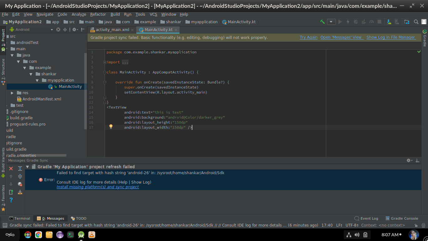 Code preview is not showing in Android Studio - help - Endless Community